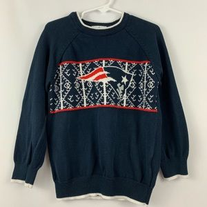 New England Patriots Youth Sweater